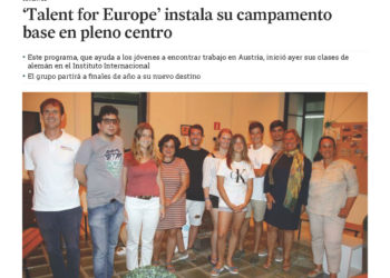 Talents for Europe' instala su campamento base